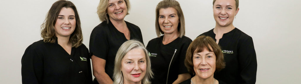 The experienced team at Victoria's Cosmetic Medical Clinic