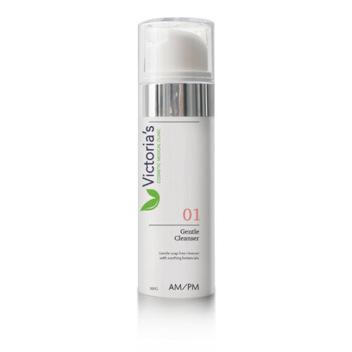 Victoria's 5 Step Skincare 01 Gentle Cleanser - Gentle soap free cleanser with soothing botanicals.